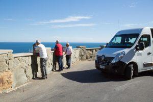 Oceania Tours van on the Great Ocean Road Tour