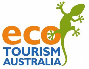 Eco Tourism Australia Logo with gecko